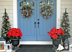 Perfect diy front porch christmas tree ideas on a budget 24
