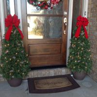 47 Perfect Diy Front Porch Christmas Tree Ideas On A Budget