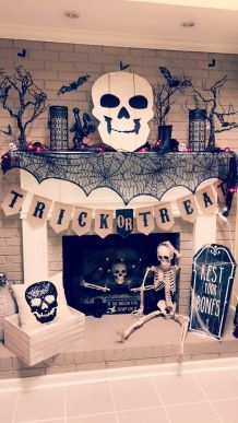 Perfect diy halloween decor on a budget 07