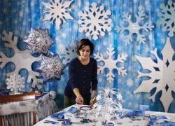Popular winter wonderland snowflake decoration ideas 05