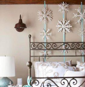 Popular winter wonderland snowflake decoration ideas 25