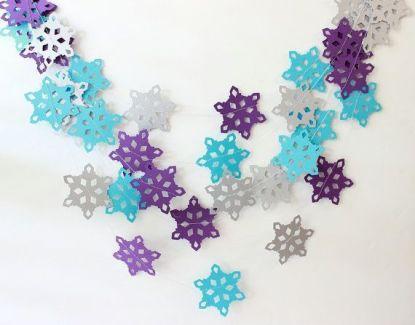 Popular winter wonderland snowflake decoration ideas 35