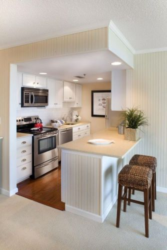 Simply apartment kitchen decorating ideas 12