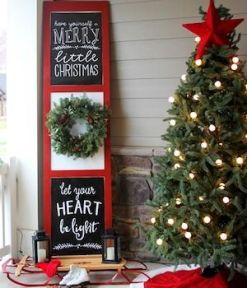 Stunning diy front porch christmas tree ideas on a budget 14