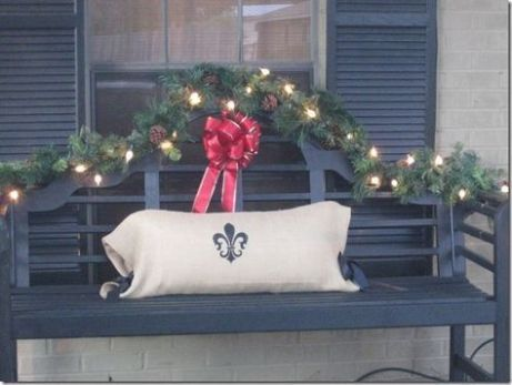 Stunning diy front porch christmas tree ideas on a budget 33