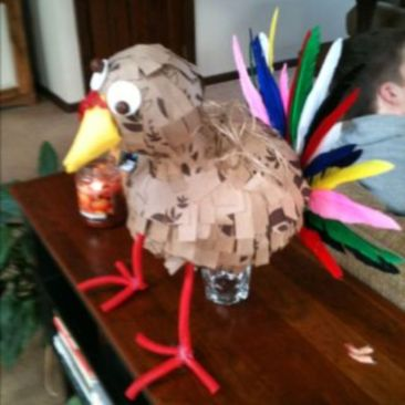 Stunning paper mache ideas for thanksgiving to decorate your home 20