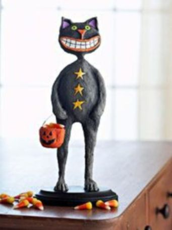 Stunning paper mache ideas for thanksgiving to decorate your home 29