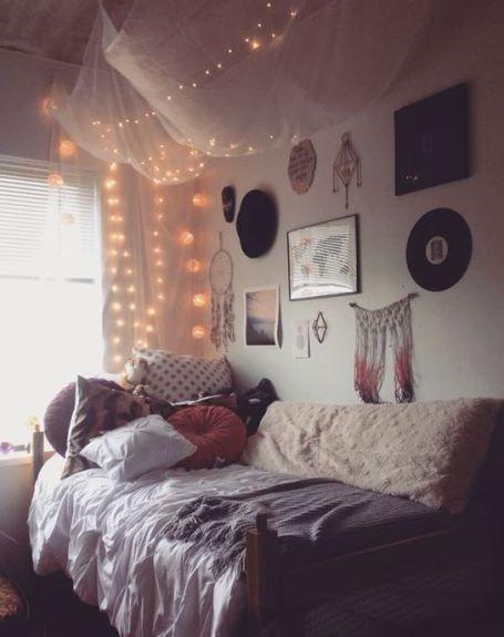 Stylish cool dorm rooms style decor ideas 11