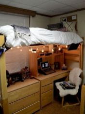 Stylish cool dorm rooms style decor ideas 14