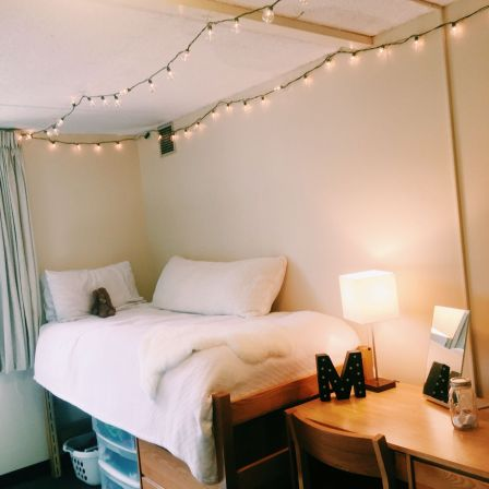 Stylish cool dorm rooms style decor ideas 20