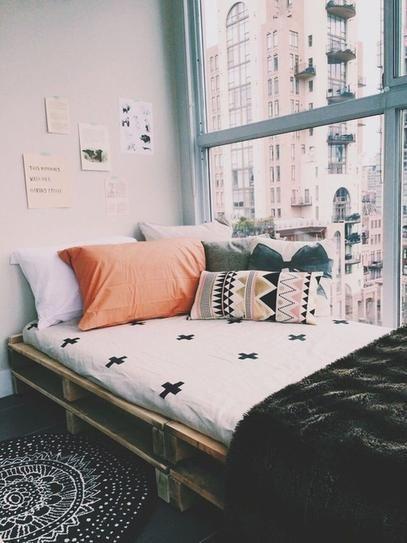 Stylish cool dorm rooms style decor ideas 32