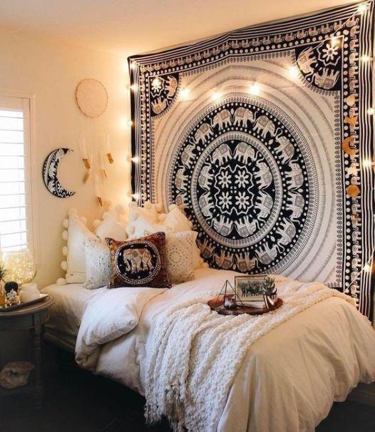 Stylish cool dorm rooms style decor ideas 38