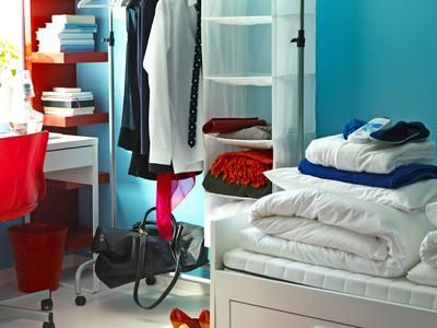 Stylish cool dorm rooms style decor ideas 45