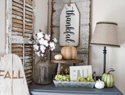 Unique diy farmhouse thanksgiving decorations ideas 02