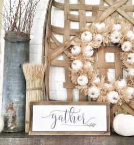 Unique diy farmhouse thanksgiving decorations ideas 11