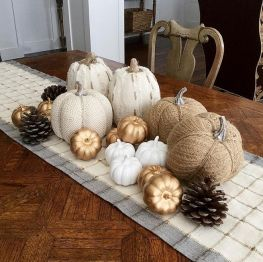 Unique diy farmhouse thanksgiving decorations ideas 12