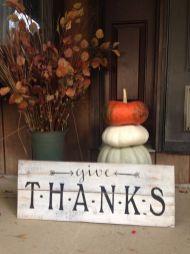 Unique diy farmhouse thanksgiving decorations ideas 21