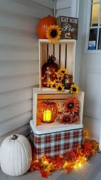 Unique diy farmhouse thanksgiving decorations ideas 36