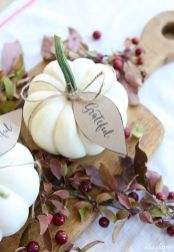 Unique diy farmhouse thanksgiving decorations ideas 37
