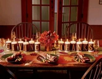 Unique diy farmhouse thanksgiving decorations ideas 42