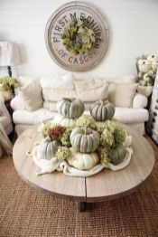 Unique diy farmhouse thanksgiving decorations ideas 44