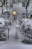 Wonderful winter wonderland decoration ideas 43