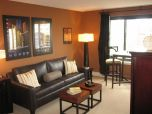 Amazing living room paint ideas by brown furniture 41