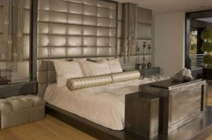 Awesome wooden panel walls bedroom ideas 13