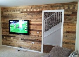 Awesome wooden panel walls bedroom ideas 41