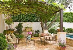 Beautiful mediterranean patio designs ideas 05