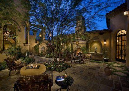 Beautiful mediterranean patio designs ideas 11