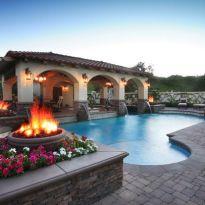 Beautiful mediterranean patio designs ideas 19