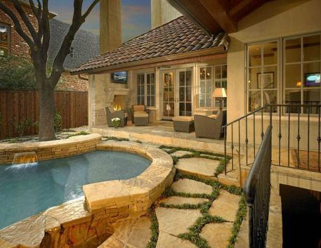 Beautiful mediterranean patio designs ideas 32
