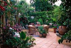 Beautiful mediterranean patio designs ideas 41