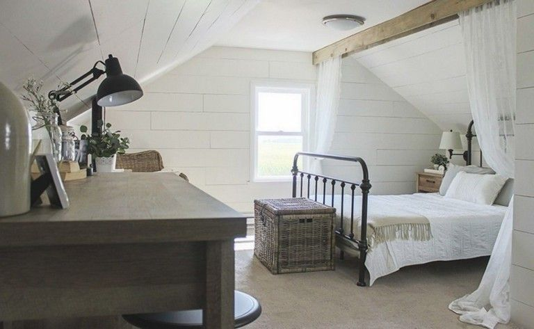 43 Casual Vintage Farmhouse Bedroom Ideas