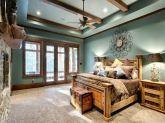 Cozy farmhouse master bedroom decoration ideas 16