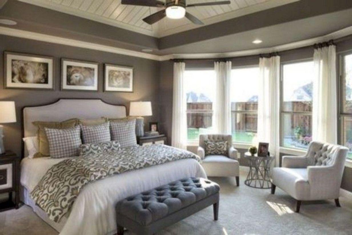 40 Cozy Farmhouse Master Bedroom Decoration Ideas