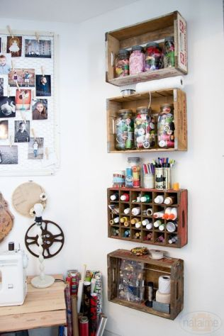 Creative ideas for repurposing old crates that are worth stealing 22