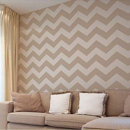 Fascinating striped walls living room designs ideas 02