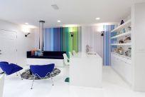 Fascinating striped walls living room designs ideas 21