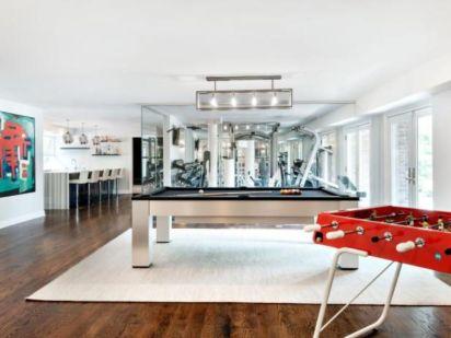 Impressive masculine game room decor ideas 10