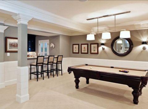 Impressive masculine game room decor ideas 11