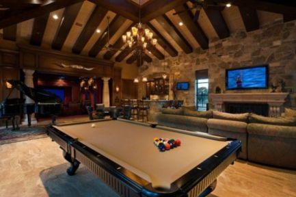 Impressive masculine game room decor ideas 17