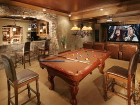 Impressive masculine game room decor ideas 27