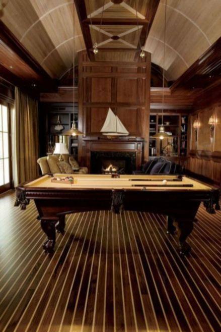 Impressive masculine game room decor ideas 30