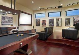Impressive masculine game room decor ideas 47