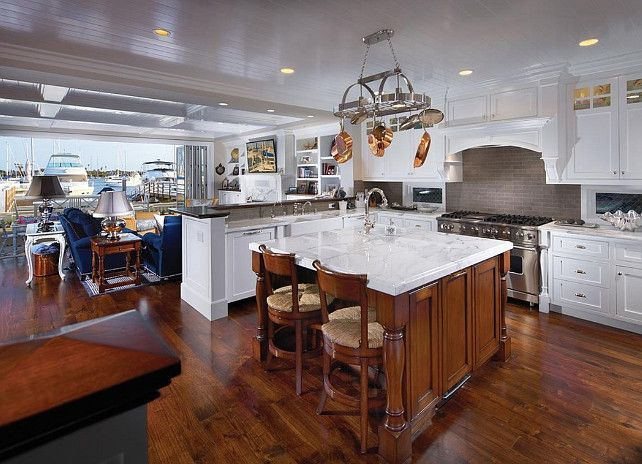 Inspiring coastal kitchen design ideas 01