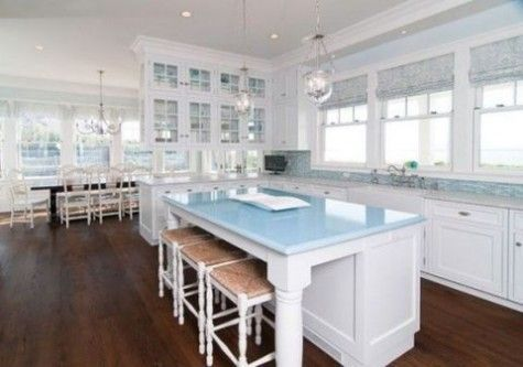 Inspiring coastal kitchen design ideas 07