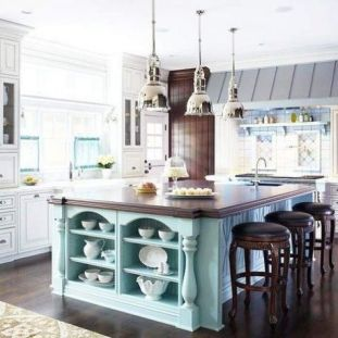 Inspiring coastal kitchen design ideas 33