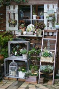 Inspiring outdoor garden wall mirrors ideas 05